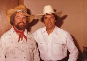 Kent Finlay with George Strait