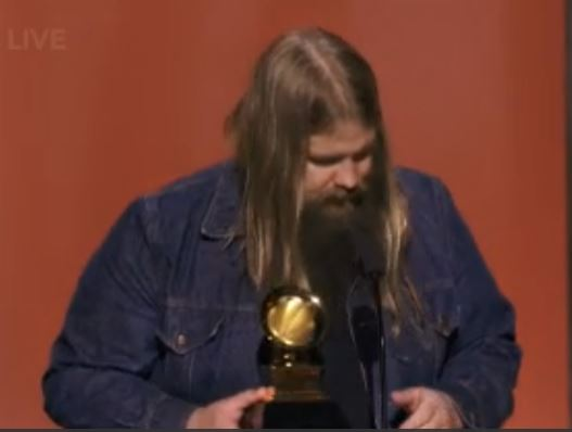 """Traveller"" by Chris Stapleton Wins 2016 Grammy for Best Country Solo Performance"