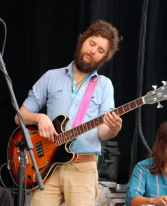 "Glad to see Sam Quinn of the Everybodyfields and ""Sam Quinn and Japan Ten"" pop up playing bass for The Black Lillies."