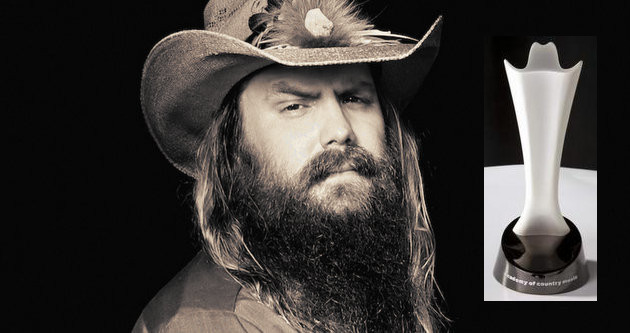 Surprise, Chris Stapleton Wins the 2016 ACM for New Male Artist of the Year