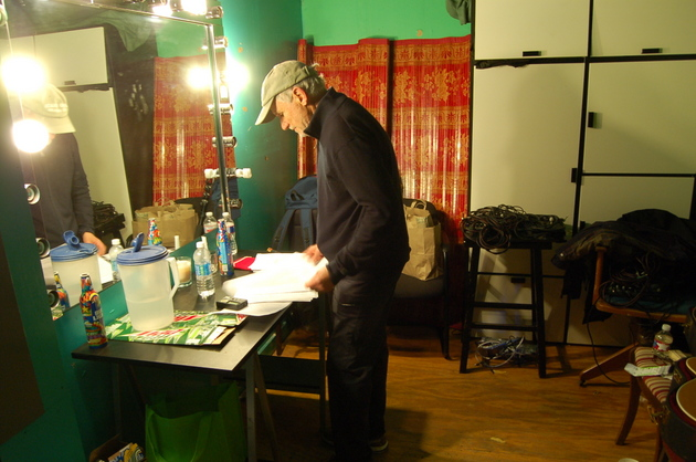 Daniel Antopolsky preparing for his 3rd show in 45 years.