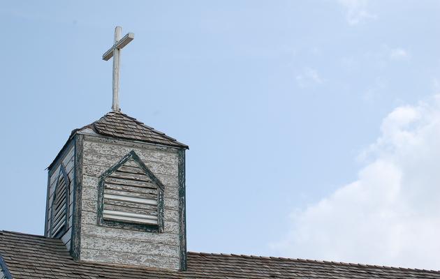 Willie's Chapel in Luck.