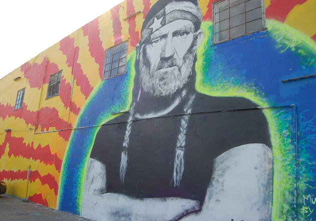Too little too late for the dying austin music scene for Austin mural location