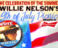 Lineup for Willie Nelson's 2016 4th of July Picnic Announced