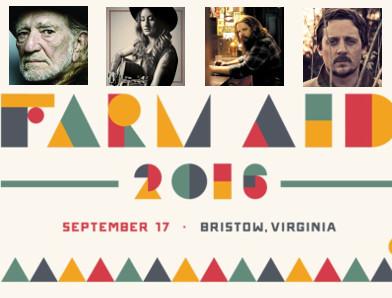 2016 Farm Aid Concert Releases Impressive Lineup