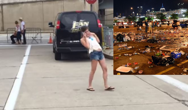 Kenny Chesney Fans Drunk Walk Epitomizes Annual Pittsburgh