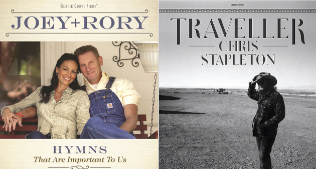 Chris Stapleton, Joey + Rory Have Best Selling Country Albums So Far in 2016