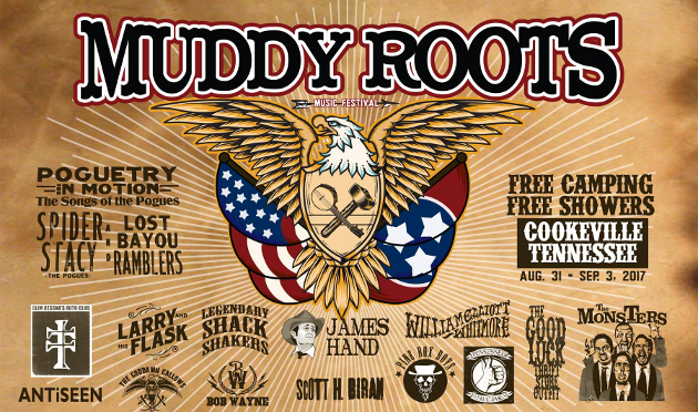 "Muddy Roots Festival Announces 110 Bands for 2017 ""Reunion"" Year"
