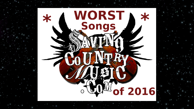 Saving Country Music's WORST Songs of 2016