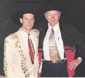 Eddie Pleasant with Hank Williams III