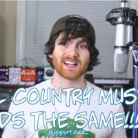 New Video Explains Perfectly Why Pretty Much Every Country Hit Sounds The Same