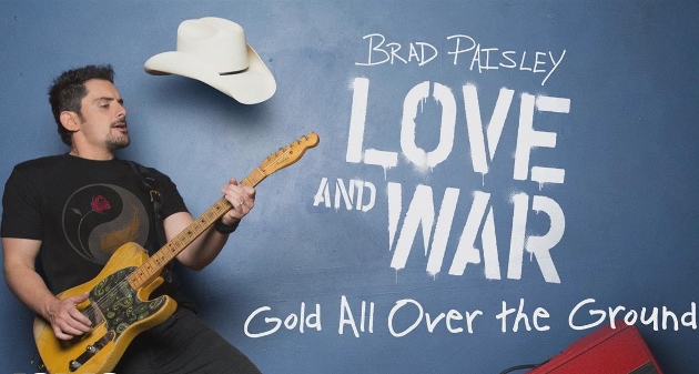 "Song Review – Brad Paisley's ""Gold All Over The Ground"" Written By Johnny Cash"