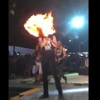 Sam Riggs Crew Lied to Larry Joe Taylor Fest About Flaming Guitar – Sam Kicked Out of Fest