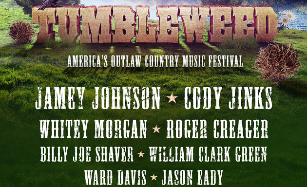 Tumbleweed Festival Announces Jaw Dropping Outlaw Country