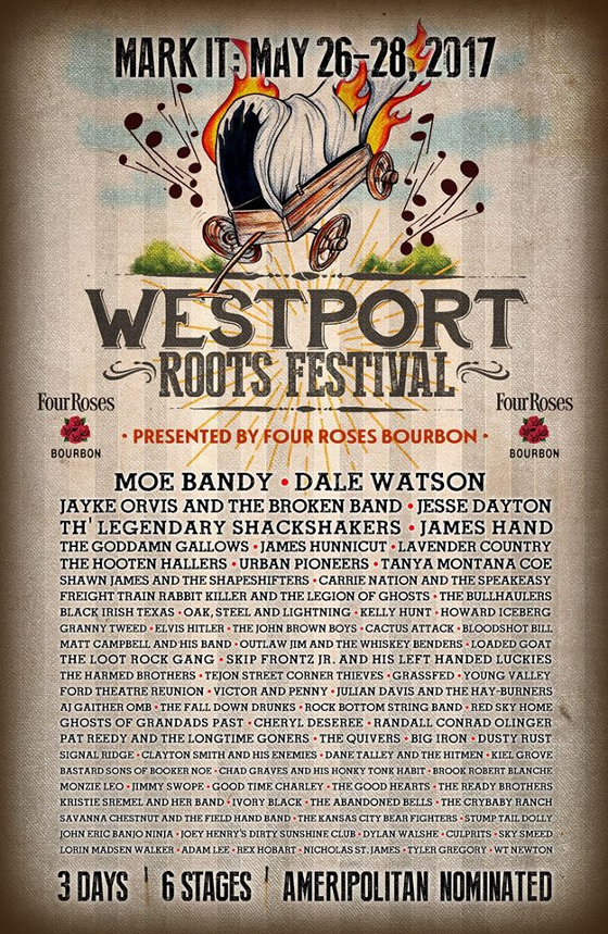 westport roots festival announces 4th annual lineup saving country music. Black Bedroom Furniture Sets. Home Design Ideas