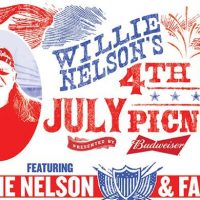 Lineup Announced for Willie Nelson's 2017 4th of July Picnic