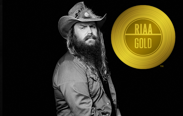 "Chris Stapleton's ""From A Room"" Becomes Country's First Gold Record of 2017"