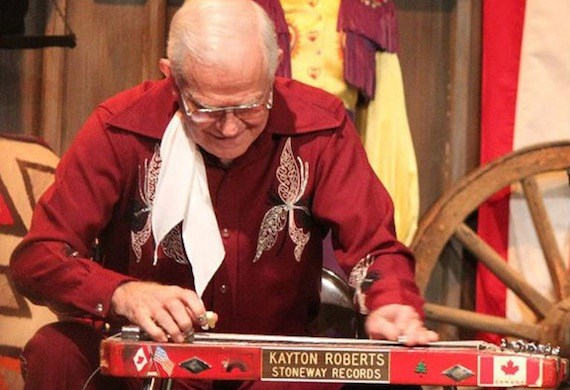 Kayton Roberts – Keeper of the Pedal-Less Steel Guitar
