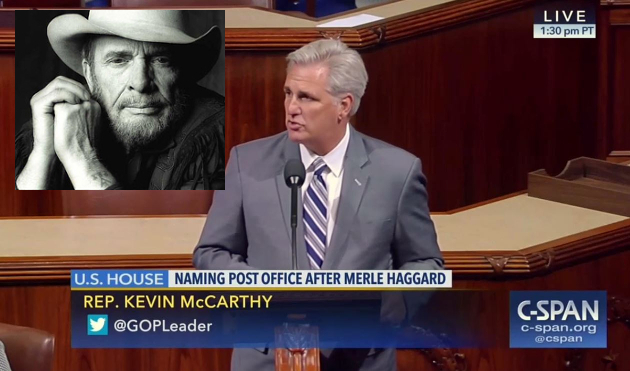 Merle Haggard Remembered on Floor of U.S. House of Representatives in Stirring Tribute