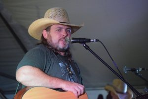 Greg Payne of Greg Payne and the Piedmont Boys who both headlined the Thursday night pre-party after winning the vote-in contest, and closed the festival out Saturday night with an extended set of country tunes that went until 3:30 in the morning.