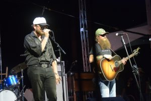 "Paul Cauthen and Cody Jinks reprised their version of ""Black Hole Sun"""