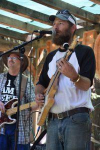 Jef Fretwell of Jimmy Pinwheel Band