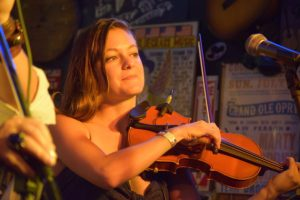 House fiddle player Kristin Weber, who's played with Kacey Musgraves, Michaela Anne, Eric Church, Margo Price, Lorde, and many more.