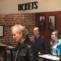 Bill Murray Buys Remaining Tickets to SteelDrivers Show, Hands Them Out to Fans