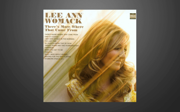 "Vintage Album Review – Lee Ann Womack's ""There's More Where That Came From"""