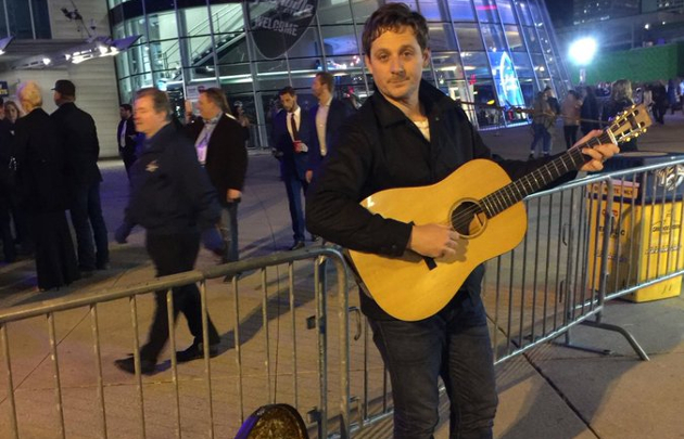 The Biggest Takeaways from Sturgill Simpson's Busking Set at the 2017 CMA Awards