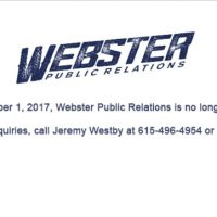 Webster Public Relations Closes After Numerous Sexual Assault Claims Against CEO Kirt Webster