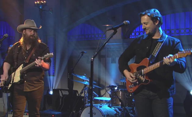 on chris stapleton and sturgill simpson 39 s saturday night live performance a review saving. Black Bedroom Furniture Sets. Home Design Ideas
