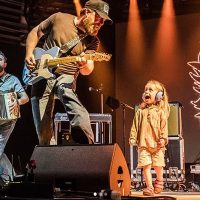 Turnpike Trubadours' Mile 0 Fest Performance Features Pint-Sized Stage Crasher