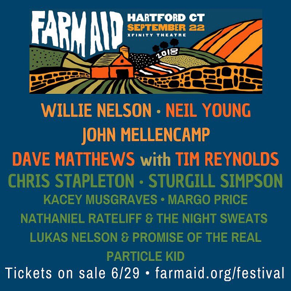 Willie Nelson Announces Location Lineup For 2018 Farm Aid Saving Country Music